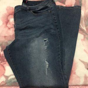 Size 22 skinny jean